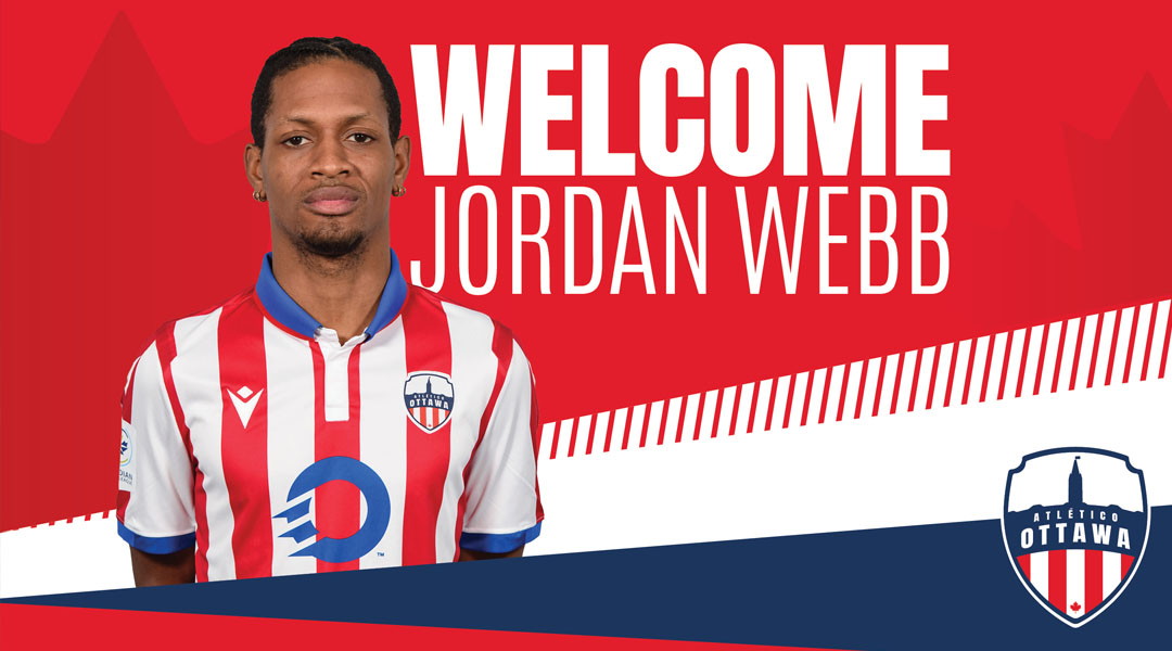 Atletico Ottawa Jordan Webb