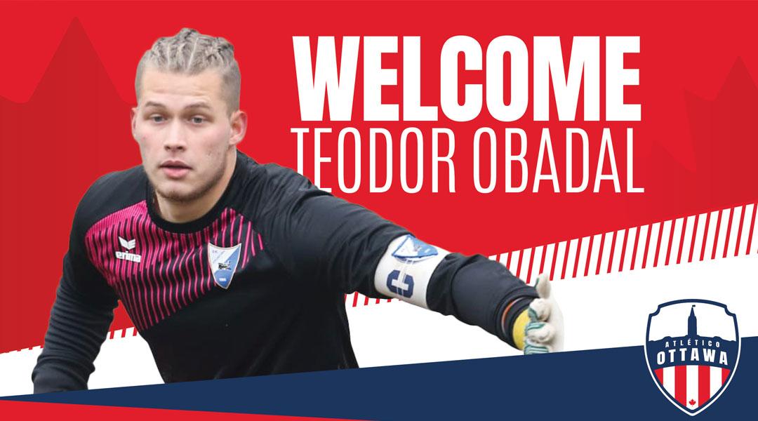 Atletico Ottawa Teodor Obadal