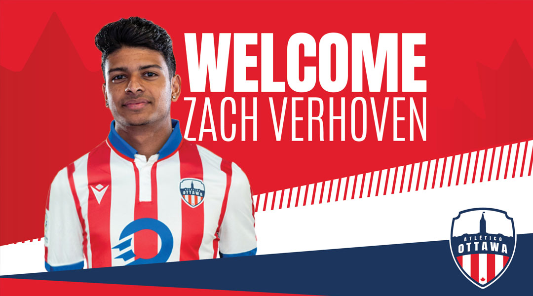 Atletico Ottawa Zach Verhoven